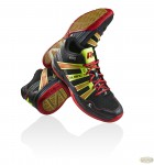 Кроссовки Salming Race R9 MID Black\Red